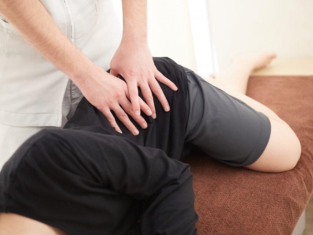 変形性股関節症 整体 施術